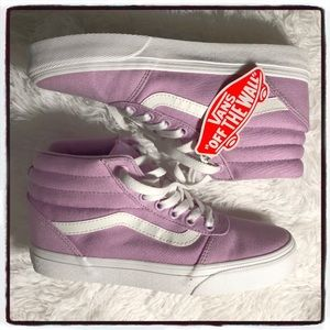 VANS Sk8-Hi Lilac Snow & True White Girls Shoes